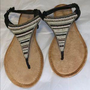 NWOT Sandals Sz 8W